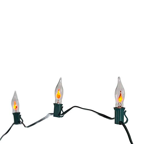 Kurt Adler 10-Light Flicker Flame Light Set (2)