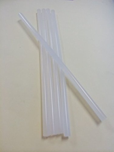 Bulk All Temperature Mini 8-inch Long Glue Sticks, 20 Sticks by Cutequebebe
