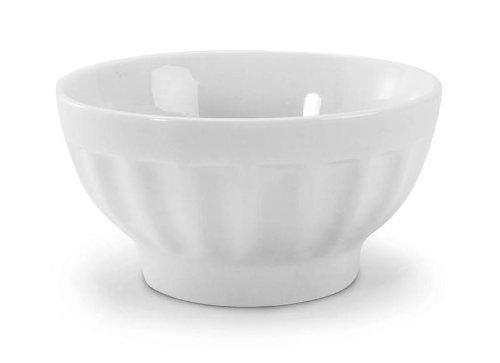 BIA Cordon Bleu White Porcelain 16 ounce Café au Lait Bowl, Set of 6 (Bia Cordon Bleu Porcelain Bowls)