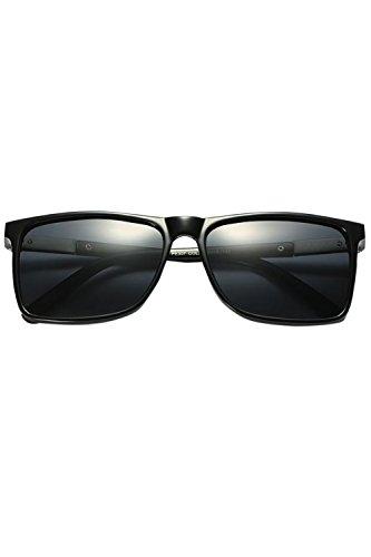 Gafas Para De Sol Sol Hombres De Black Conduciendo Gafas UV400 Polarizadas Classic R5qwz1xgB