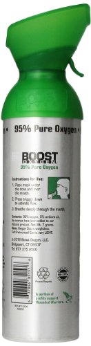 Boost Oxygen Natural Energy In A Can  Ounce