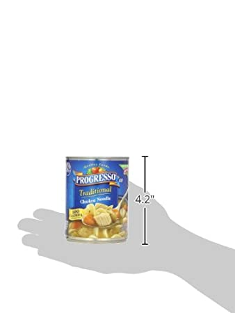 Amazon.com: Progresso Soup, Traditional, Chicken Noodle Soup, 19 oz Can: Prime Pantry