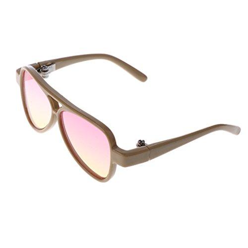 MonkeyJack Stylish Full Rim Sunglasses Eyewear Glasses for 1/3 BJD SD DD DOA Uncle Dolls - Dd Sunglasses