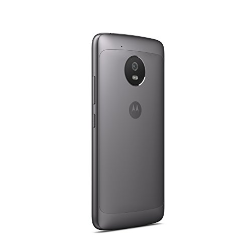 Motorola Moto G5 XT1675 16GB Android (GSM Only, No CDMA) Factory Unlocked 4G/LTE Smartphone (Lunar Grey) - International Version