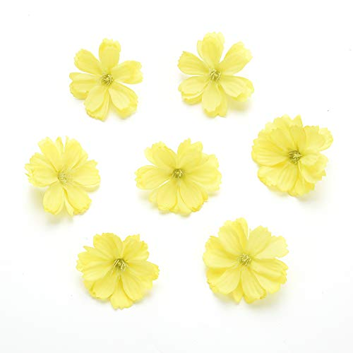 Fake-flower-heads-in-bulk-wholesale-for-Crafts-Artificial-Silk-Flowers-Head-Peony-Daisy-Decor-DIY-Flower-Decoration-for-Home-Wedding-Party-Car-Corsage-Decoration-Fake-Flowers-50PCS-4cm-Colorful