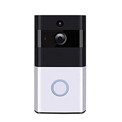 DREAMVAN Wireless Video Doorbell WiFi Door Bell HD Monitor Alarm Door Home Security Remote Home Monitoring Systems