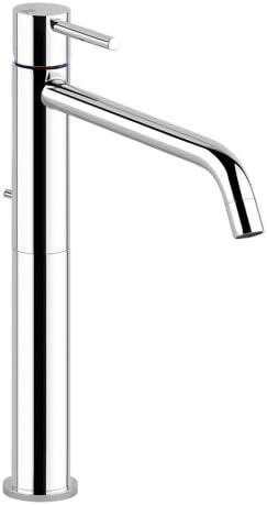 Grifo de lavabo alto Gessi cromado, colección Vía Tortona