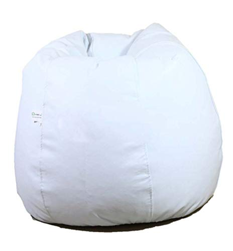 ORKA Classic XXL Bean Bag Cover Without Beans   White