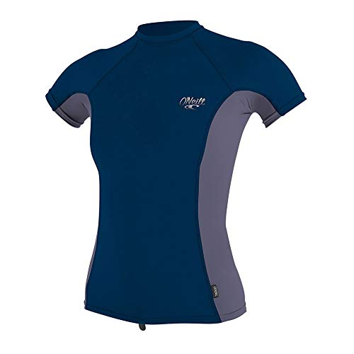 O'Neill Damen Rash Guard WMS Premium Skins S/S Rash Guard FN3 Abyss/Dusk/Abyss XS
