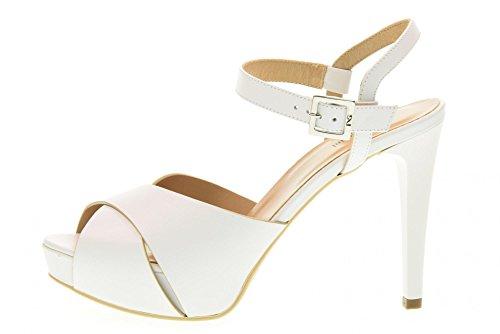 707 White sandal women NERO P717900DE GIARDINI shoes ZqXww1Y