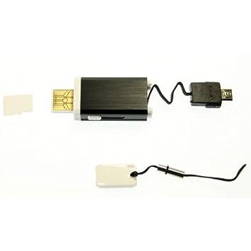 Cable MULTIFUNCIÓN A8-USB Cargador Y Adaptador DE Micro SD ...