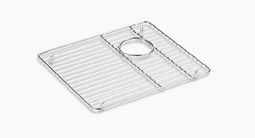 Kohler 9234-ST Left-Hand Sink Rack for K-8669, Stainless Steel by Kohler