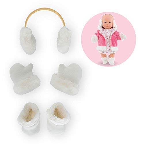 Corolle Mon Grand Poupon Winter Accessories Set Toy Baby Doll