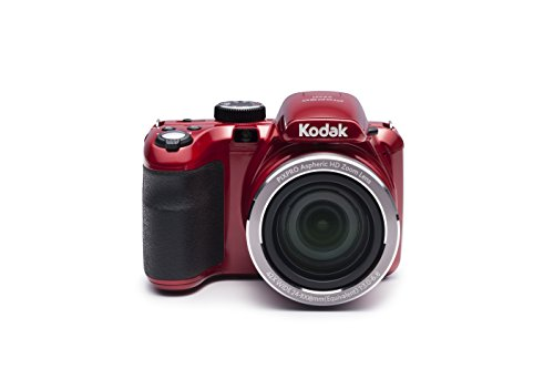 "Kodak PIXPRO Astro Zoom AZ421-RD 16MP Digital Camera with 42X Optical Zoom and 3"" LCD Screen (Red) by Kodak"