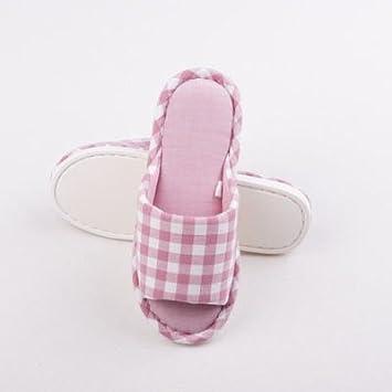 Home Di Coppie Uomini Donne Lavate Filo Cotone Pantofole 6g7yYbfv