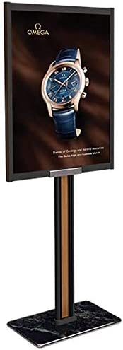 TZSMSJ Advertising Sign Stand Poster Stand Bracket Double-Sided Display Floor Vertical Hotel Shopping Mall Signage Billboard Advertising Rack 5Z0S9J