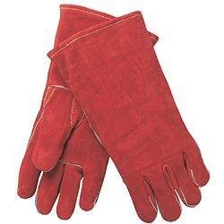 (12 Pair) MCR 4320 Russet Leather Gunn Pattern Welder Gloves w/Kevlar, Sz (Best Welder Gloves With Gunn Patterns)
