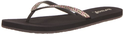 Reef Women's Stargazer Luxe Sandal,Brown/Purple/Gold,6 M US ()