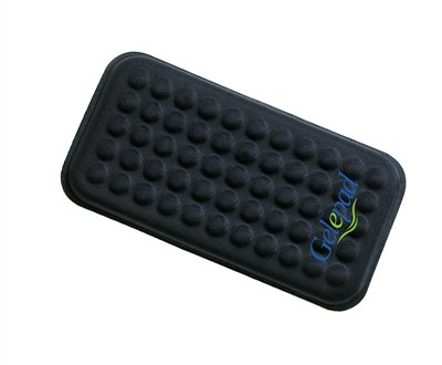Gelepad 3x6 - Ultra Soft Gel Pad for Instant Comfort and Improved Ergonomic Sitting/Working for Elbow, Arm, Wrist - Armrest, Wrist Rest - Car Truck, Home, Office, ()