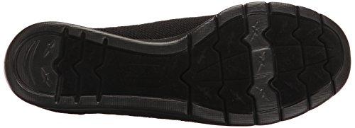 Black Flat Women's Supastar Pureflex Black from BOBS Skechers X6qw0Aw