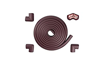 Safety Bumper Edge Protectors For Furniture Edge Guards Baby Safety 16.2 ft(15 ft Edge + 4 Corners) Coffee Table Protectors For Baby