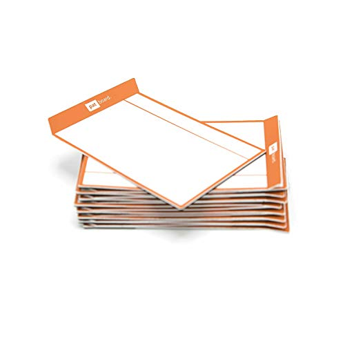 PATboard Scrum Board and Kanban Board Medium TASKcards Magnetic - Orange ()