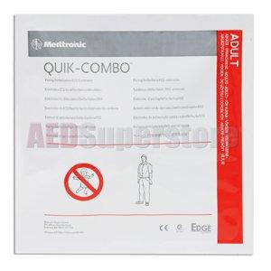 Electrode Adult 'No Preconnect' QUIK COMBO - 11996-000091