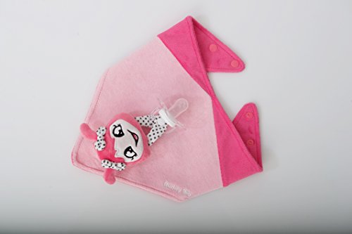 Buddy Bib (Malarkey Kids Buddy Bib Pink)