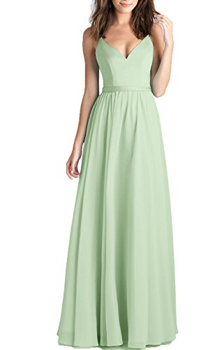 2 color bridesmaid dresses - 6
