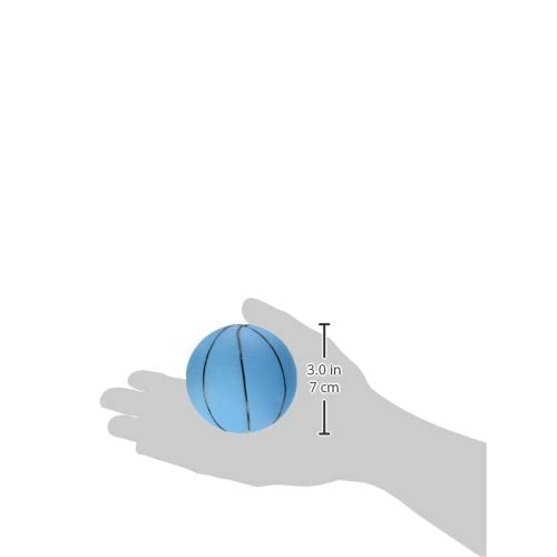 Ethical Vinyl Basketball Dog Toy, 3-Inch, Assorted Colors well-wreapped