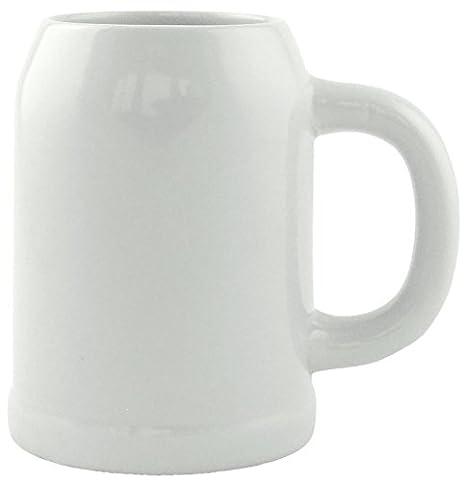 6 Bierkr/üge Humpen 0,5L Steinkrug ohne F/üllmarke