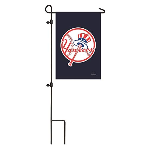 Yankees Garden - Ashley Gifts Customizable Embroidered Garden Size MLB Flag, NY Yankees
