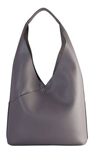 Leather Hobo Studded Large Pieces Set 6554 2 PU D��cor Diophy Black Taupe XS1 Z5xqwYRFq