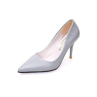 Talones de las mujeres Zapatos Primavera Verano Otoño Invierno club Comfort PU oficina y carrera boda Charol Fiesta y vestido de noche CasualStiletto Red