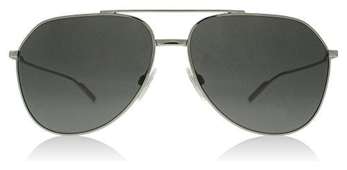 Dolce & Gabbana Men's Metal Man Aviator Sunglasses, Gunmetal, 61 - Dolce Gabbana Sun Glasses