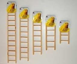Prevue Pet Products BPV383 Birdie Basics 5-Step Wooden Ladder for Bird, 8-1/2-Inch
