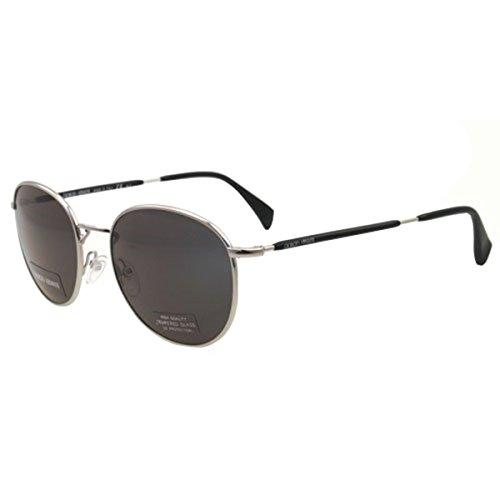 GIORGIO ARMANI 841/S Men's Semi-Oval Full Rim Sunglasses-Palladium/Gray/S 51/19-145