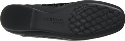 Aravon Kvinners Whitney Svart Croc