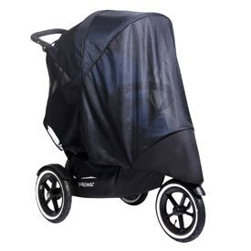 Phil & Teds DOUBLE UV Mesh Sun Cover for Navigator Baby Pushchair by Phil & Ted by Phil & Teds