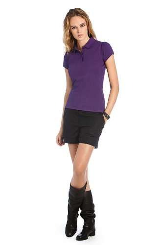 Heavymill Polo Ladies, Farbe:Purple;Größe:XS