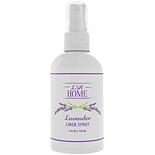 Lavender Essential Oil Aromatherapy Linen Spray - Pure & Natural - Handcrafted in the USA - Calming Pillow Mist for Adults, Kids & Baby - Promotes Relaxing and Restful Sleep