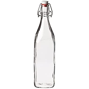 Bormioli Rocco Square Swing Bottle 33.75 Ounce