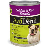 AvoDerm Natural Lite Rice & Chicken Formula Canned Dog Food