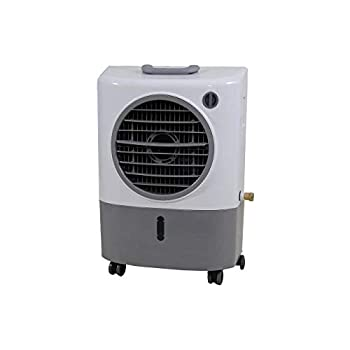 Image of Hessaire Products MC18M Mobile Evaporative Cooler, 1,300 Cfm, Gray