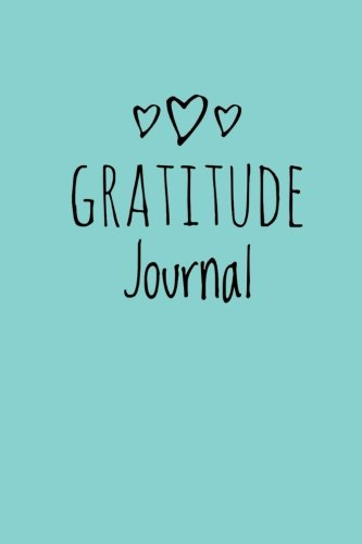 """Gratitude Journal: Personalized gratitude journal, 102 Pages,6"""" x 9"""" (15.24 x 22.86 cm),Durable Soft Cover,Book for mindfulness reflection ... self care gift or for him or her (Light Blue)"""