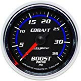 - Autometer Cobalt 52mm 0-35 psi Mechanical Boost Gauge (am6104)
