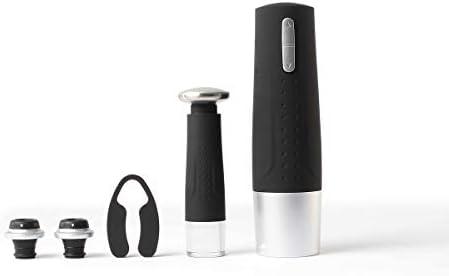 Livoo - Sacacorchos eléctrico y Bomba de vacío GS118 Negro