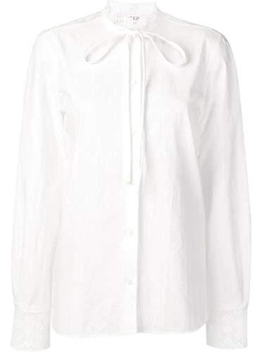J.W. ANDERSON Women's Tp05219a001 White Cotton Blouse