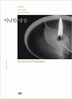 Book The Miracle of Mindfulness (Korean Edition)