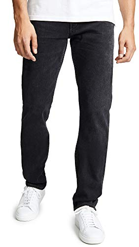 Citizens of Humanity Men's Bowery Standard Slim Jeans, Rucker, Black, 38 Citizens Of Humanity Button Fly Jeans